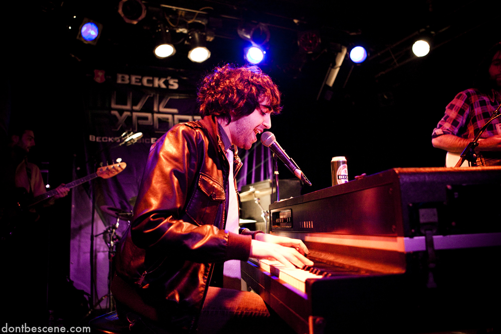 EYTAN & His Orchestra performs live at the Beck's Music Export at the Double Door in Chicago on December 10, 2009