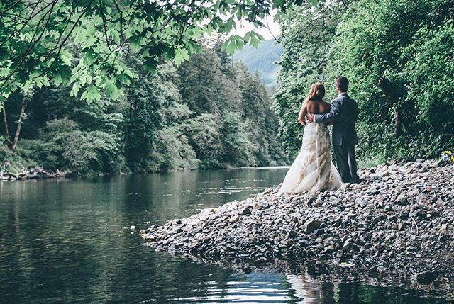 Kelsey and Josh's gorgeous spring wedding is up on the blog today (finally)! Link in bio. . . . #photography #wedding #weddingphotography #pnw #spring #river #forest #diywedding #lovers #valentines #newlyweds #cowichan #greenery