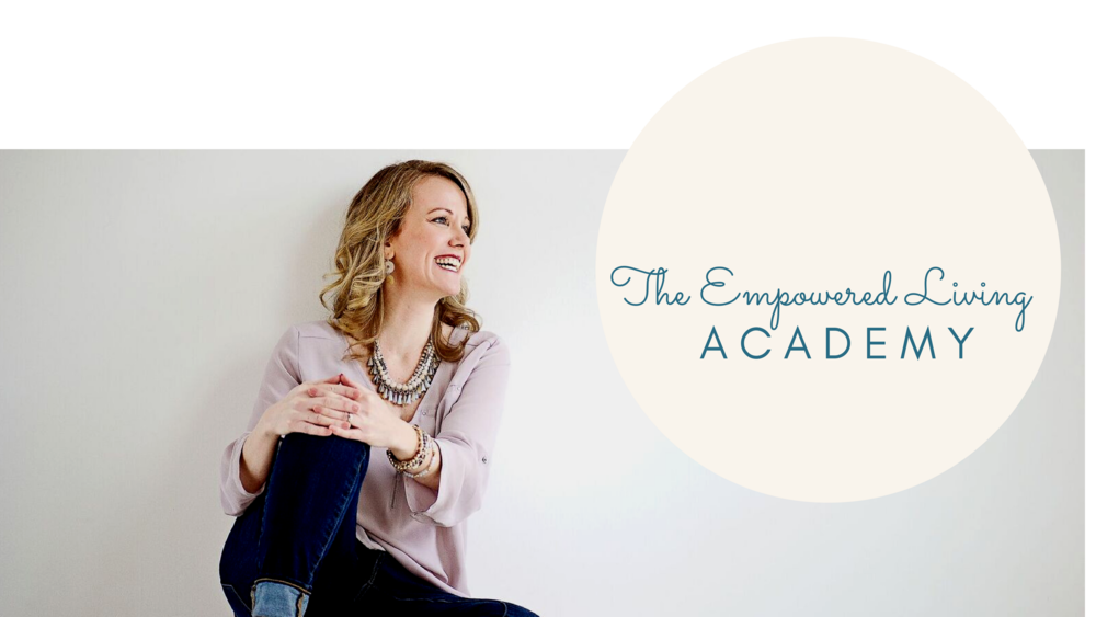 You are so much more than you give yourself credit for, you have a light that needs to shine, and that's why you've found your way here.  Discover what is holding you back.  Discover what you are truly capable of.  Discover the Empowered Living Academy.