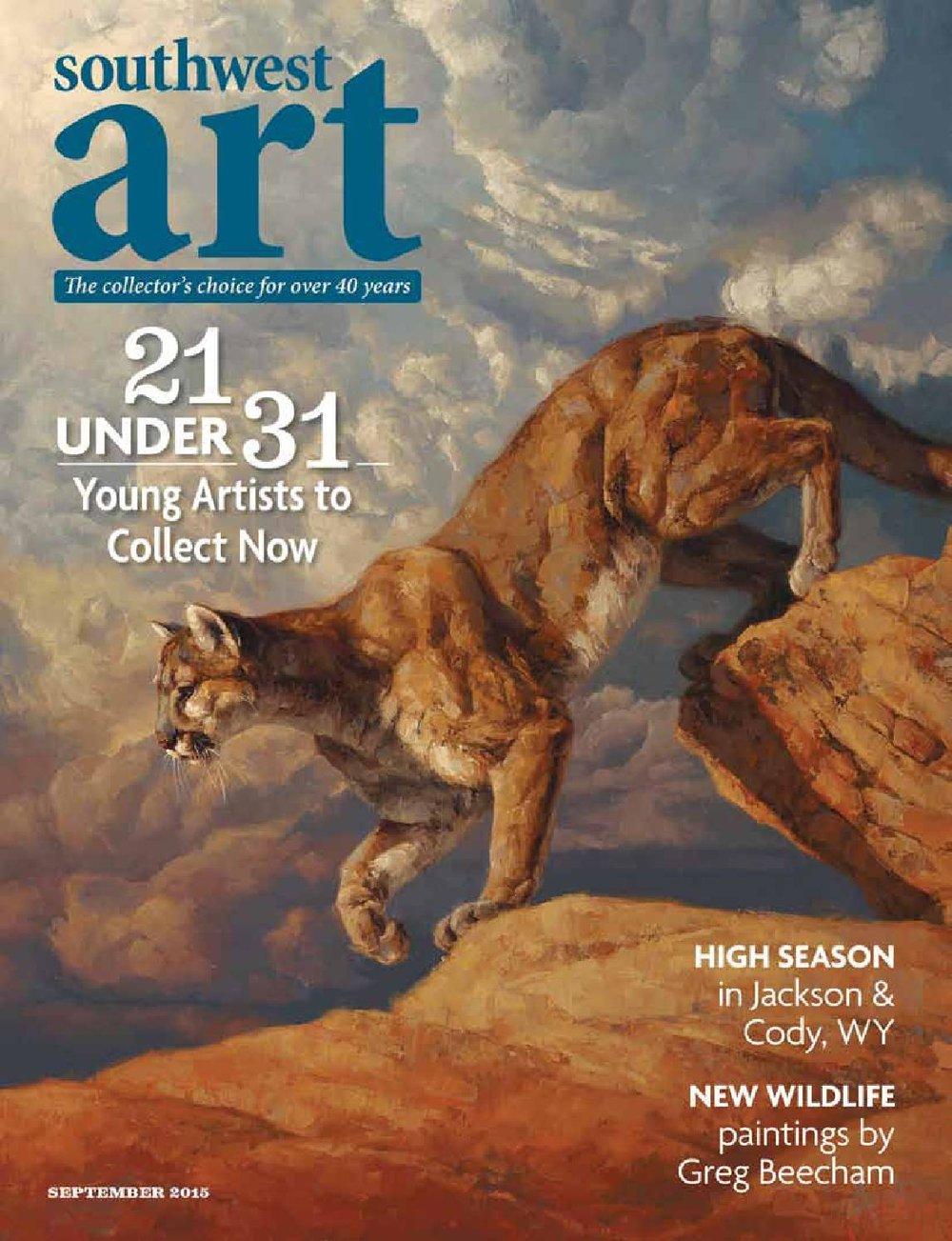 New Wildlife - September 2015Southwest Art Magazine • Western Art Collector Magazine