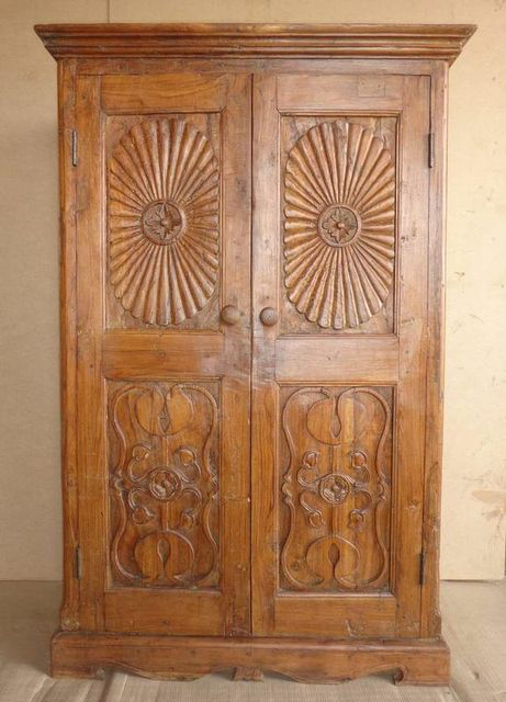 Carved Teak Cabinet MMN168 .jpg