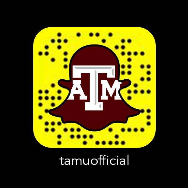 TexasAMUniversity_Snapchat_Snapcode