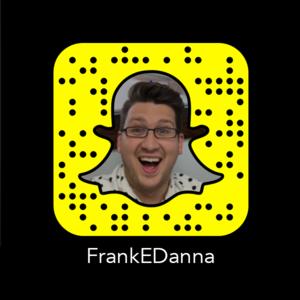 Frank Danna Snapchat Snapcode