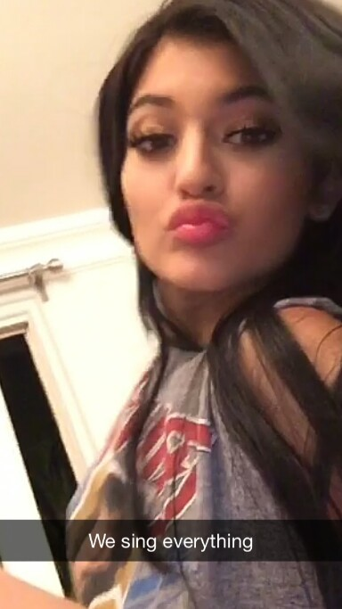 Kylie Jenner Snapchat Selife 5