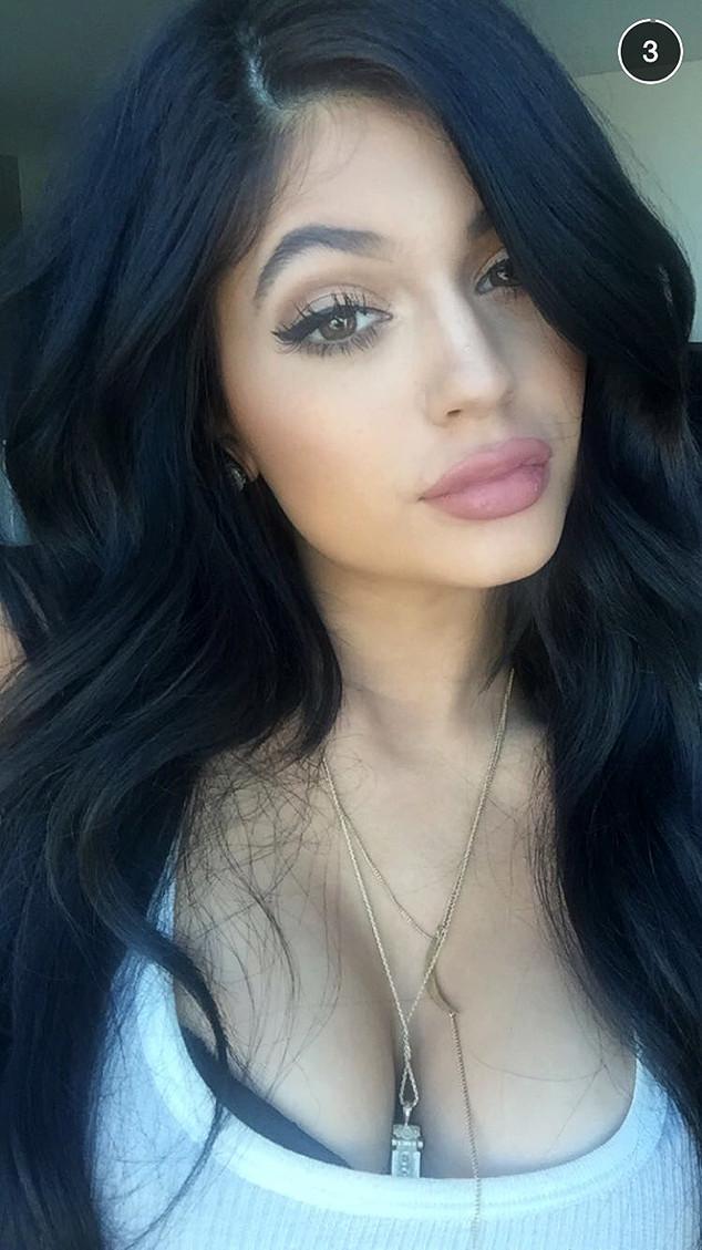 Kyle Jenner Snapchat Selfie