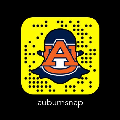 Auburn Snapchat Snapcode