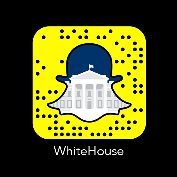 WhiteHouse_Snapchat_Snapcode