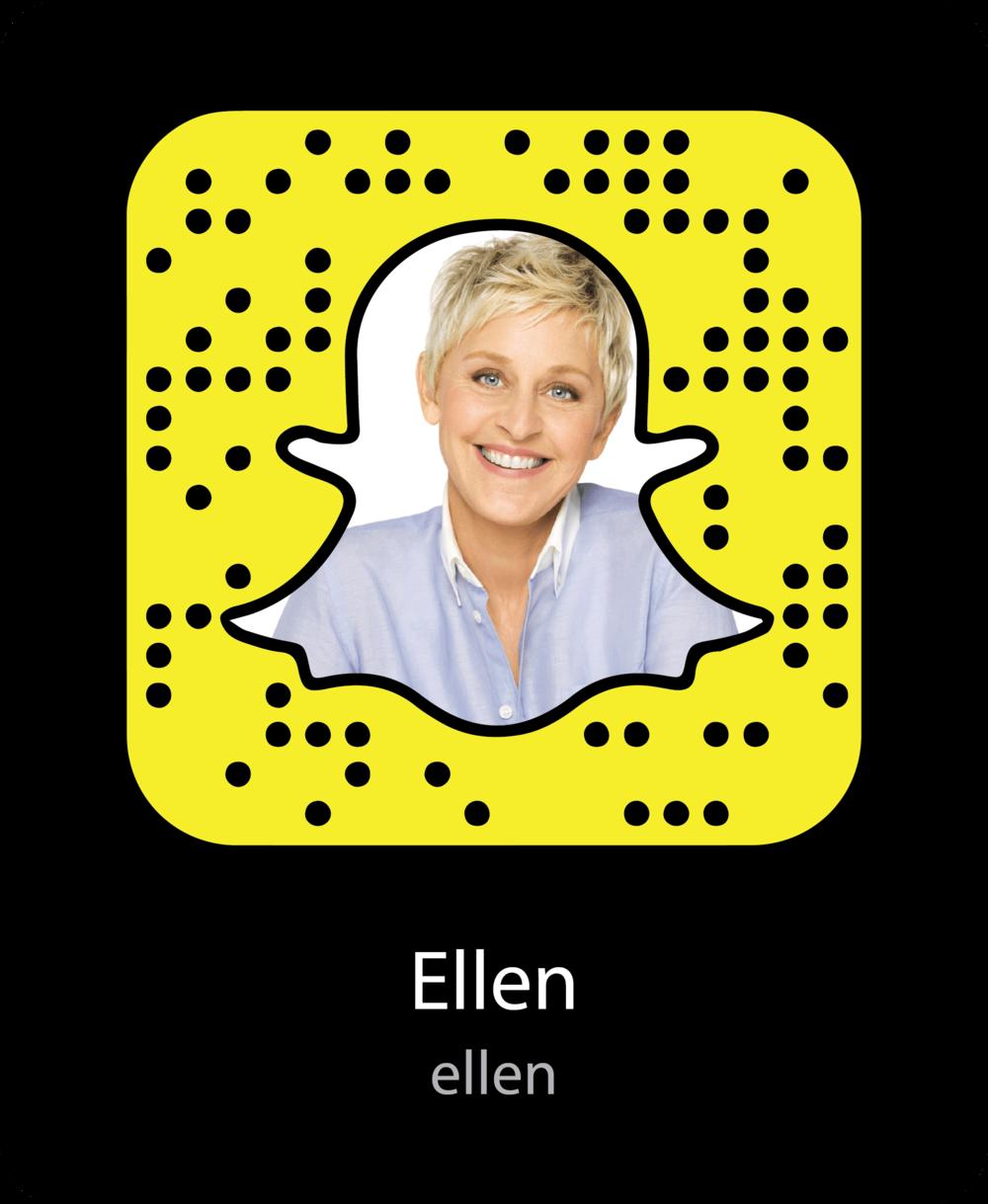 ellen-celebrity-snapchat-snapcode