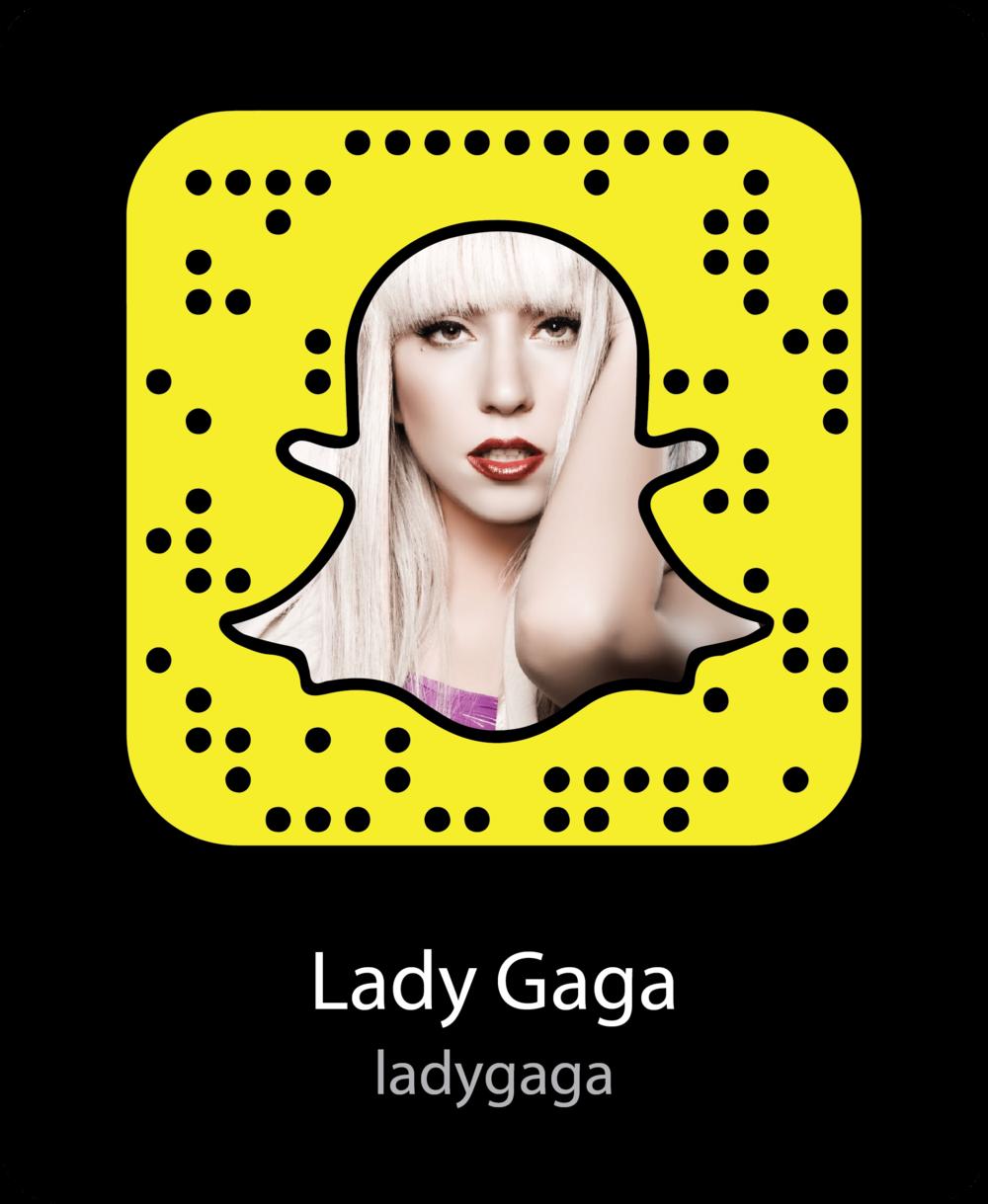 lady-gaga-celebrity-snapchat-snapcode