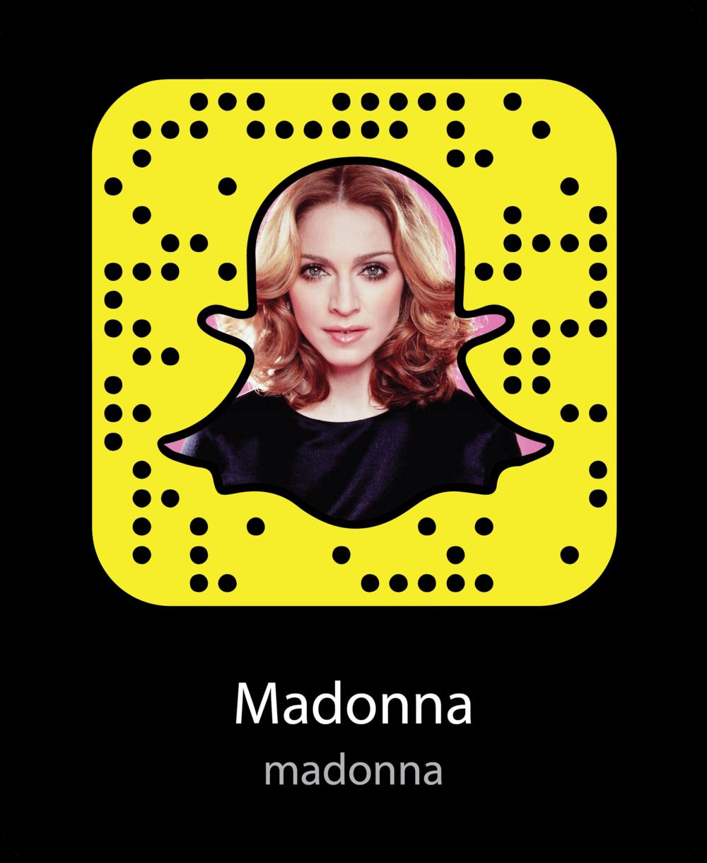 madonna-celebrity-snapchat-snapcode