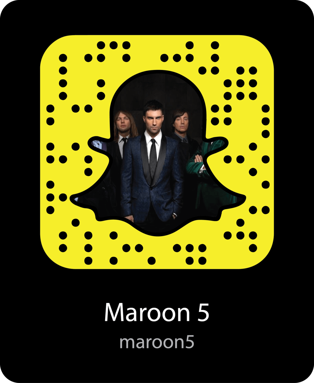 maroon-5-celebrity-snapchat-snapcode