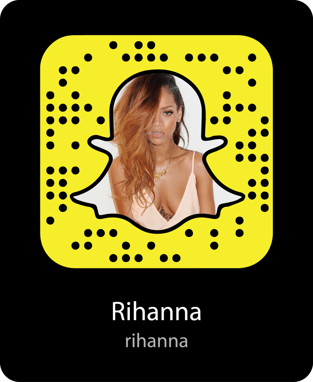 rihanna-celebrity-snapchat-snapcode
