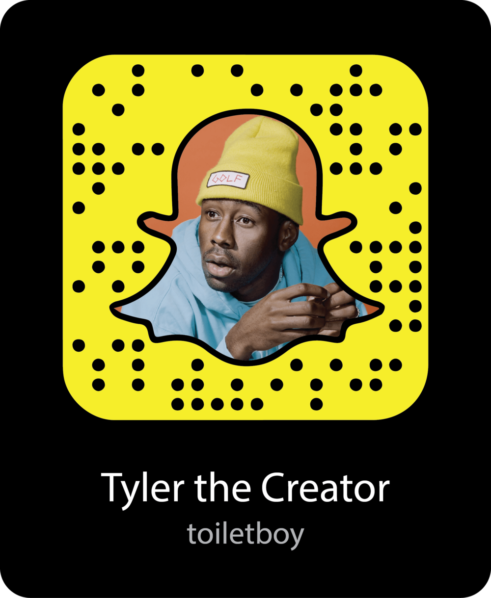 tyler-the-creator-celebrity-snapchat-snapcode