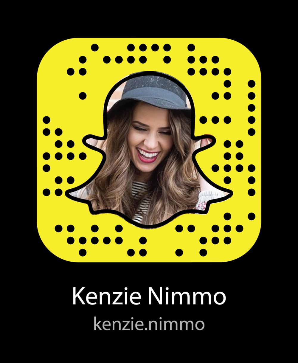 kenzie-nimmo-vine-celebrity-snapchat-snapcode