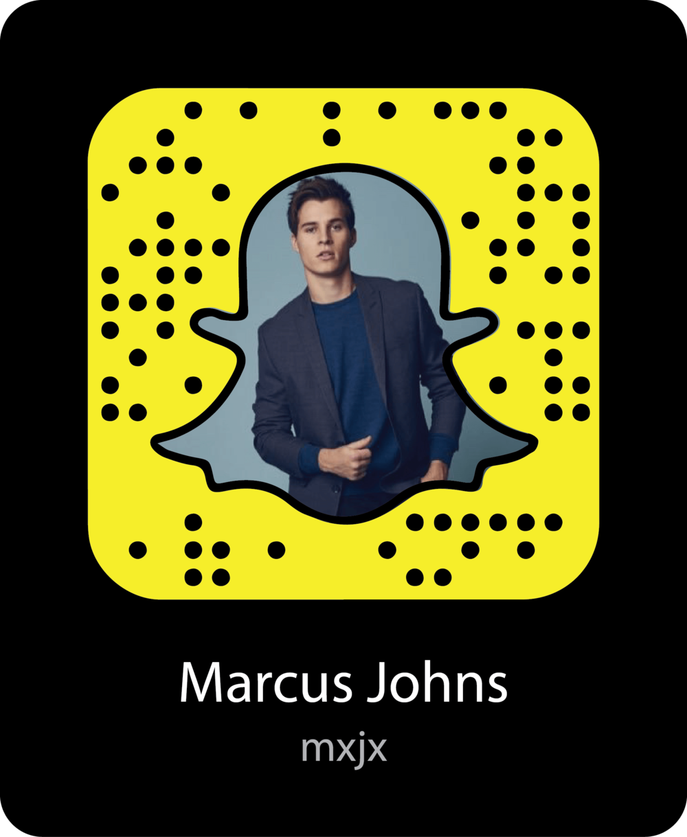marcus-johns-celebrity-snapchat-snapcode