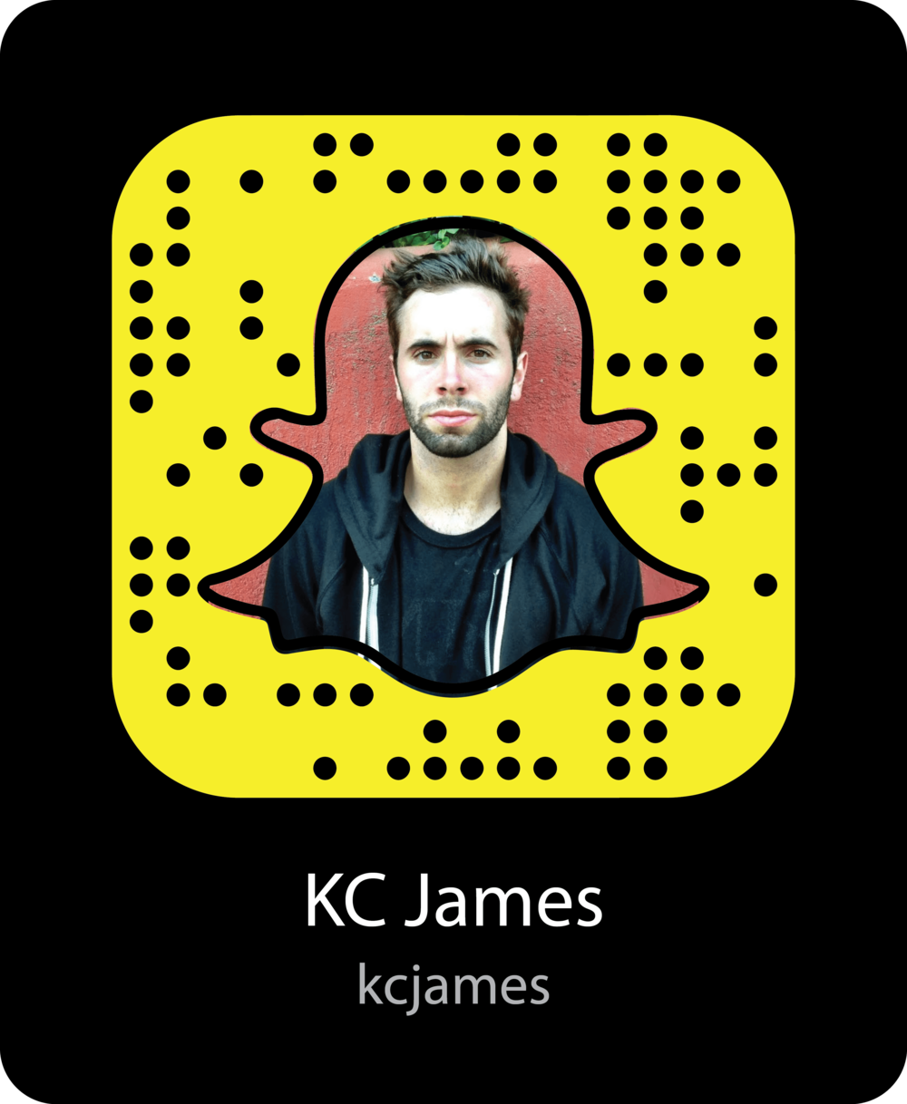 kc-james-vine-celebrity-snapchat-snapcode