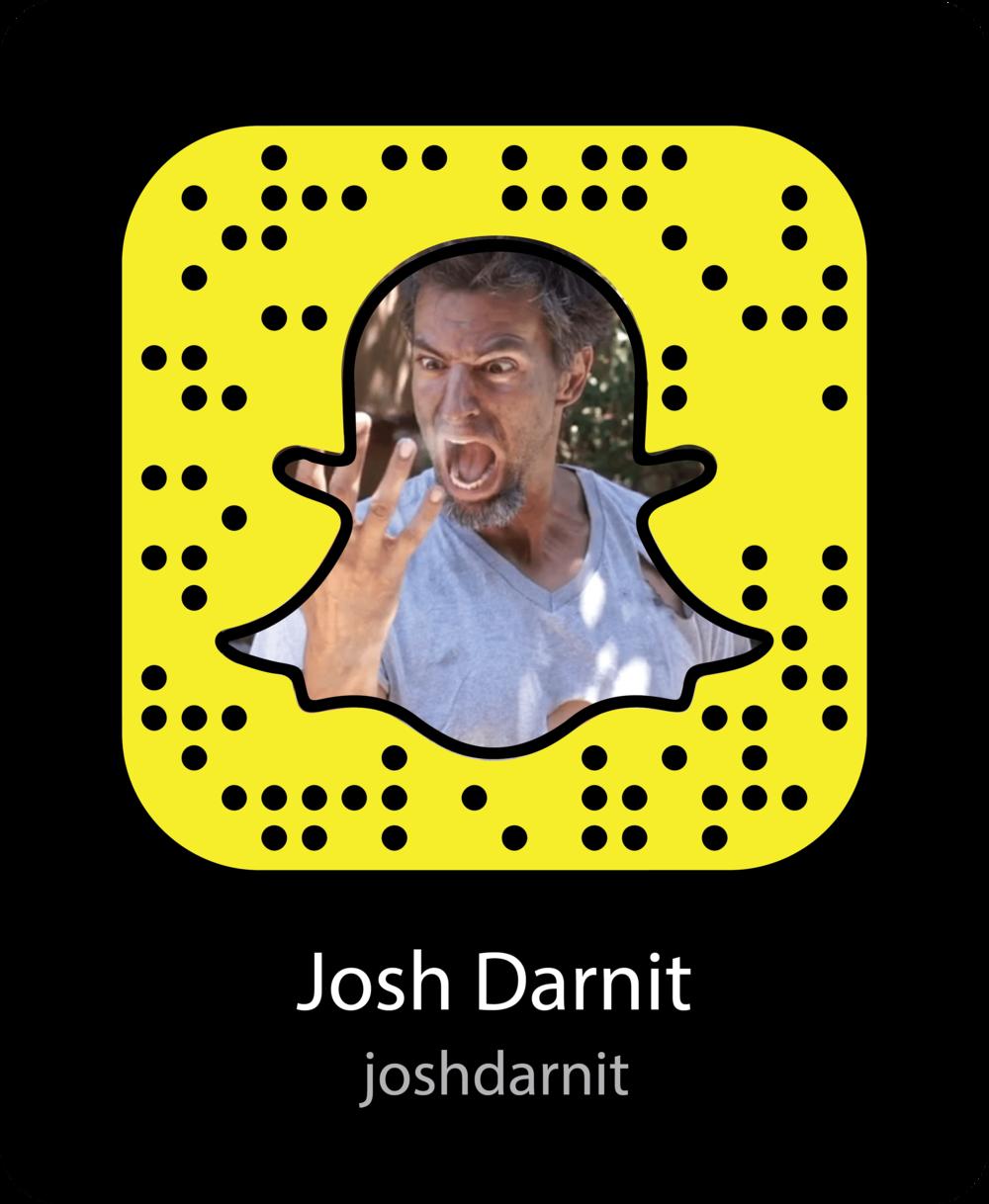 josh-darnit-vine-celebrity-snapchat-snapcode