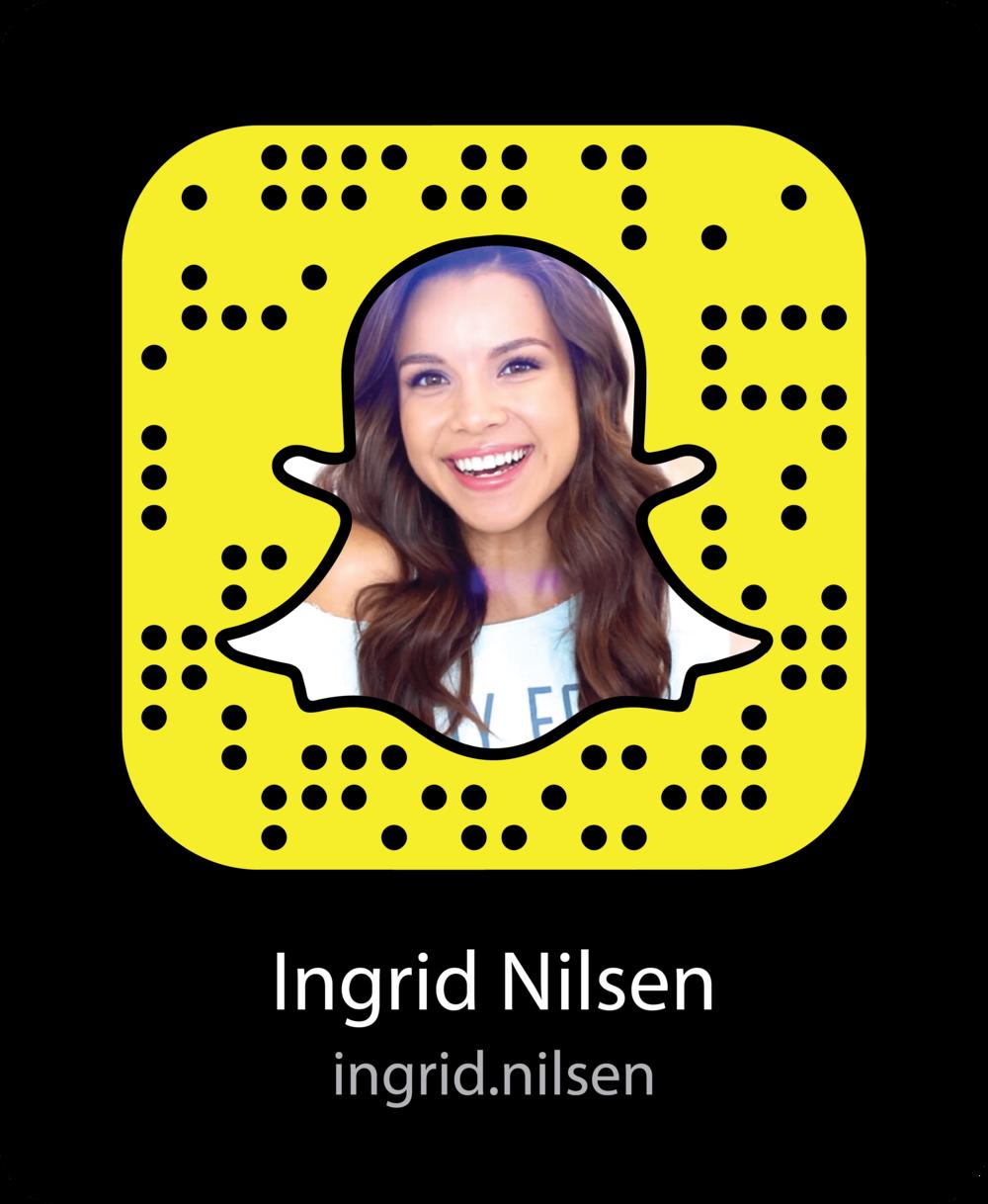 ingrid-nilsen-celebrity-snapchat-snapcode