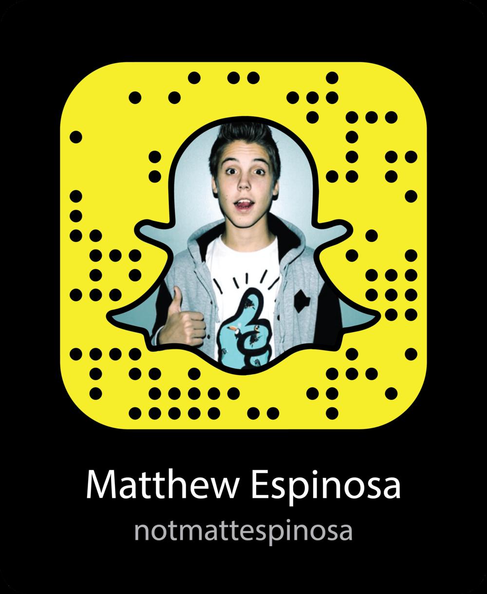 matthew-espinosa-vine-celebrity-snapchat-snapcode