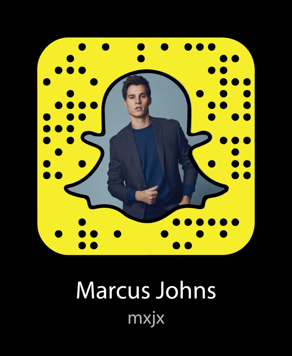 marcus-johns-celebrity-snapchat-snapcode