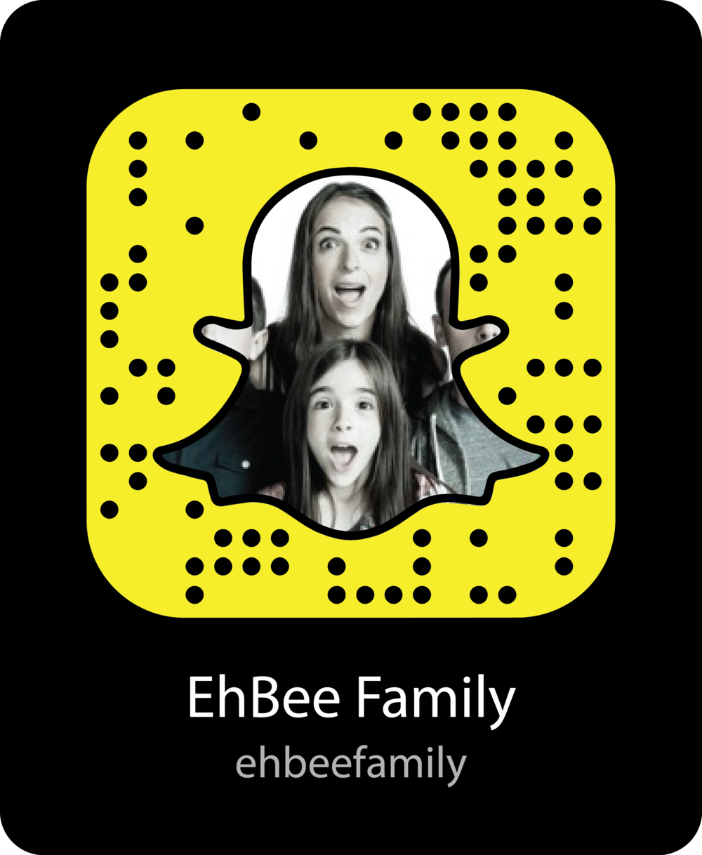 ehbee-family-vine-celebrity-snapchat-snapcode