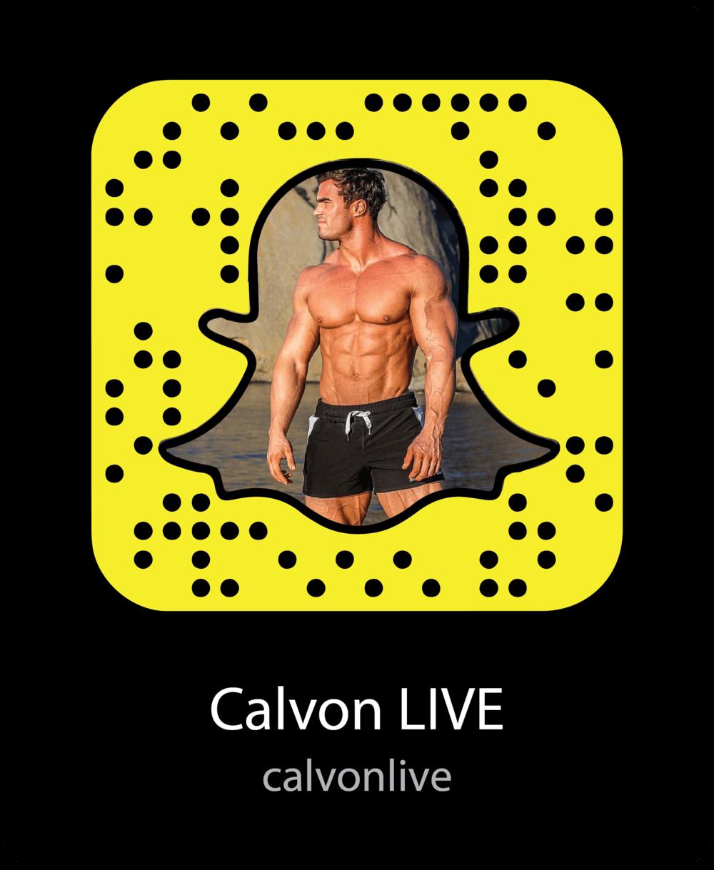 calvon-live-fitness-snapchat-snapcode