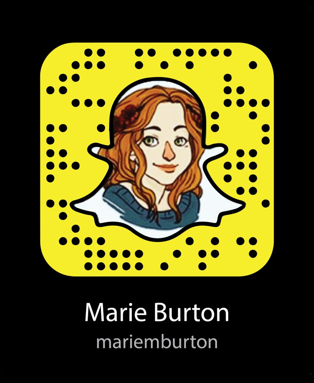 marie-burton-snapchat-snapcode