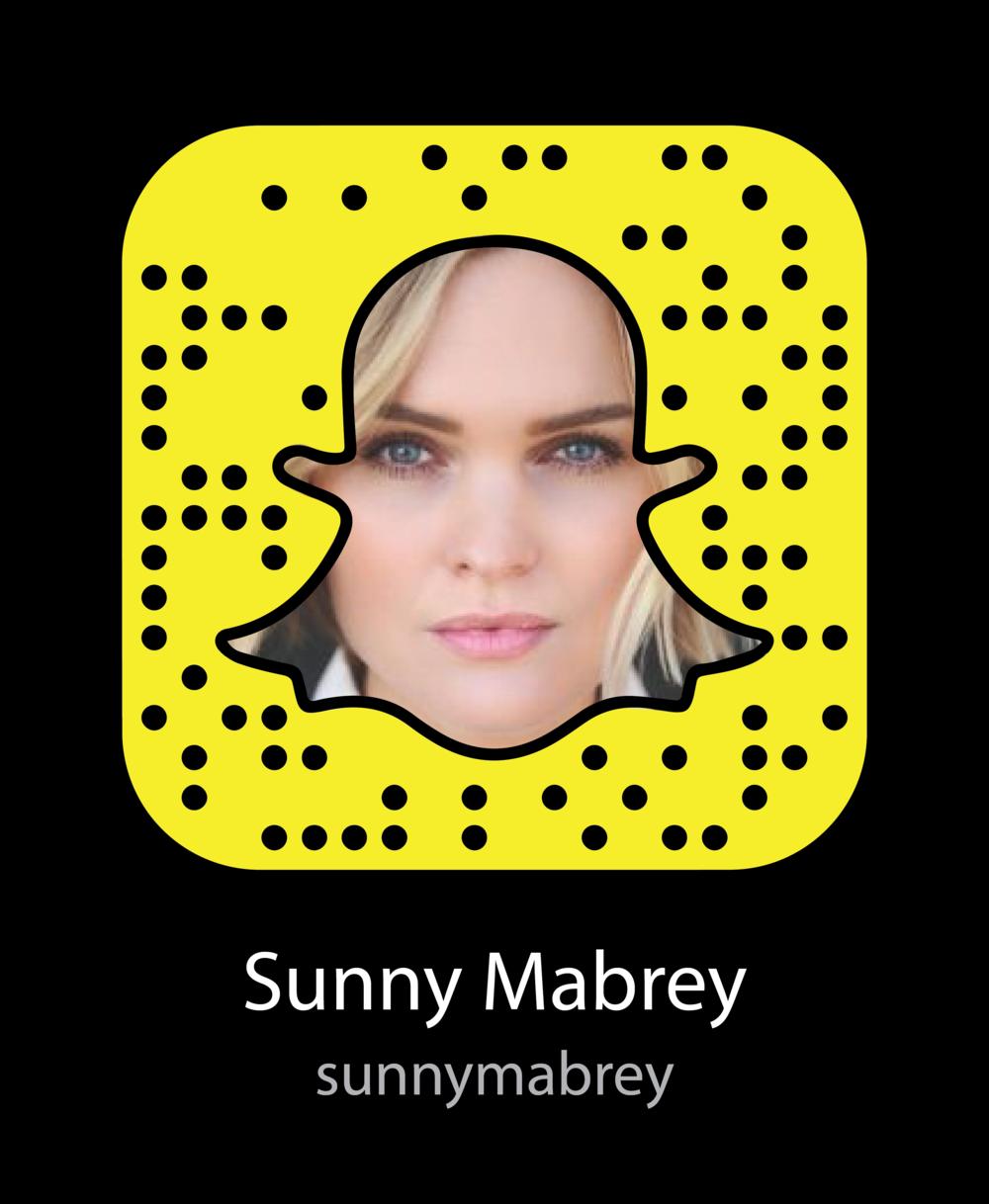 sunny-mabrey-vine-celebrity-snapchat-snapcode