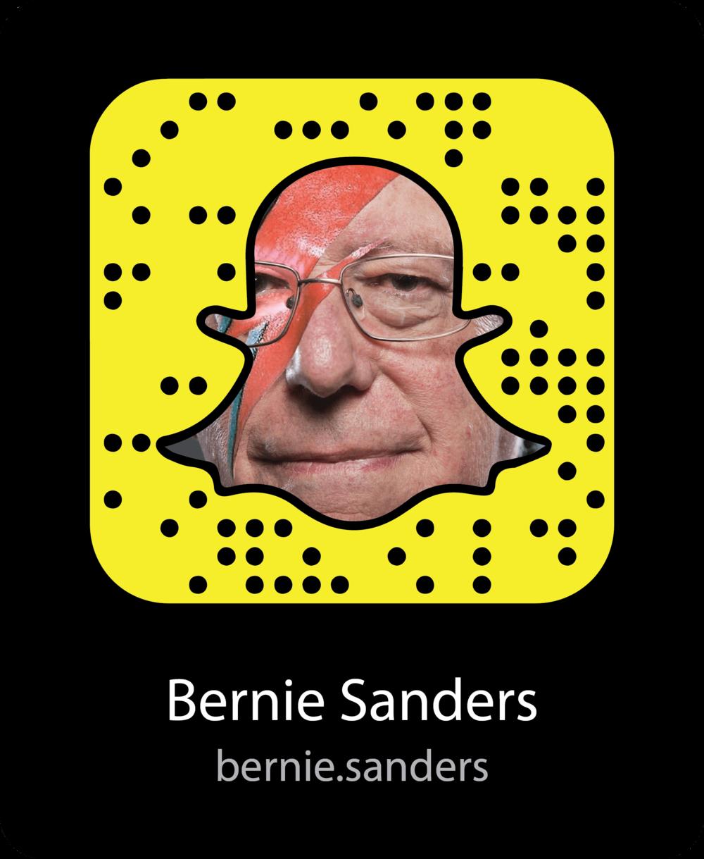 bernie-sanders-election-snapchat-snapcode