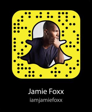 Jamie Foxx Snapcode / Jamie Foxx Username on Snapchat: iamjamiefoxx