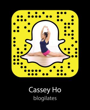 cassey ho fitness snapchat snapcode?format=300w - Celebrity Snapchat Names Leaked