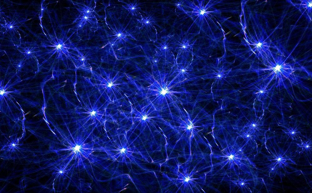 Neurons firing....