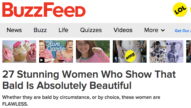 Our beautiful Beth featured in Buzzfeed.