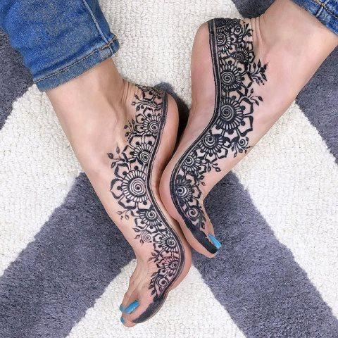 jagua flower feet - 24 hours
