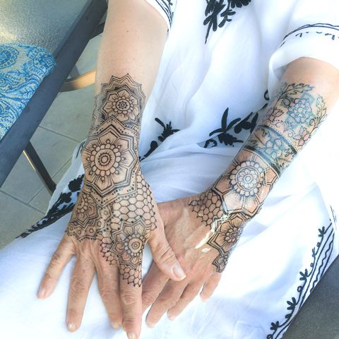 jagua gel sleeves w/honeycombs