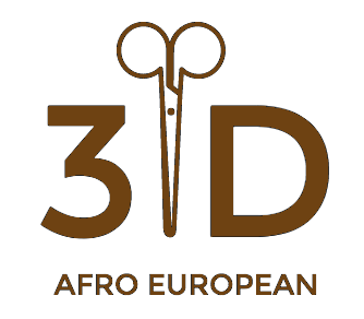 3D Afro European Unisex Salon