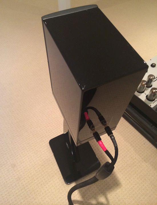One of the best piano black speaker finishes in the business