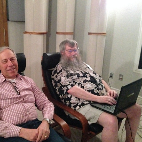 Paul McGowan (left) and Ted Smith of PS Audio. Photo credit: PS Audio