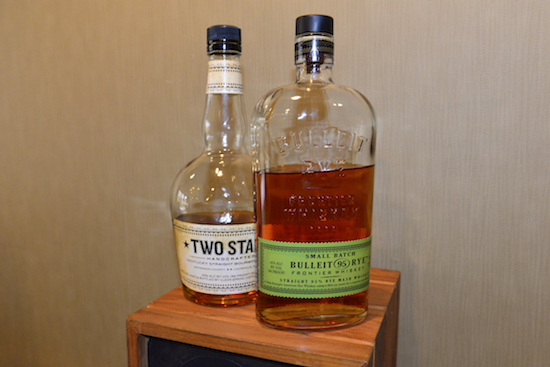 Near the end of Saturday, I could not resist a nice wallop of small batch Rye Whiskey offered to me by the kind enthusiastic Art Powers Jr in the Madison Fielding room; cheers!