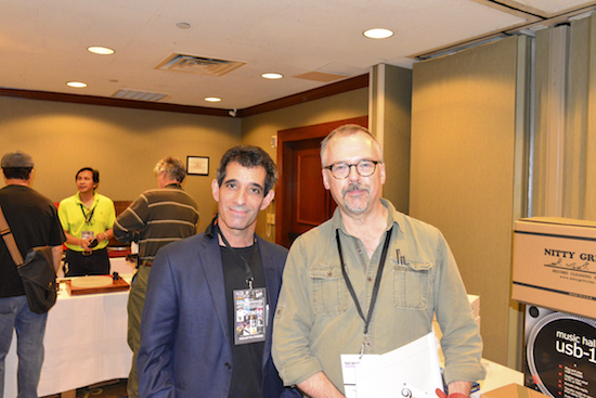 Me and the wonderful Art Dudley. Art ran a Ask-the-Editors panel
