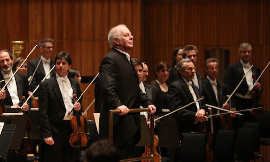 Daniel Barenboim and his Staatskapelle Berlin. Photo credit: The Guardian