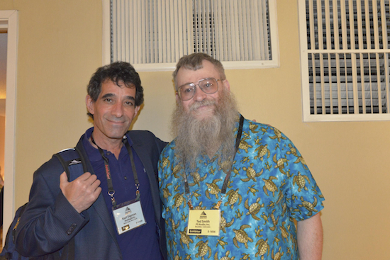Karl Sigman of Audiophilia and Ted Smith of PS Audio