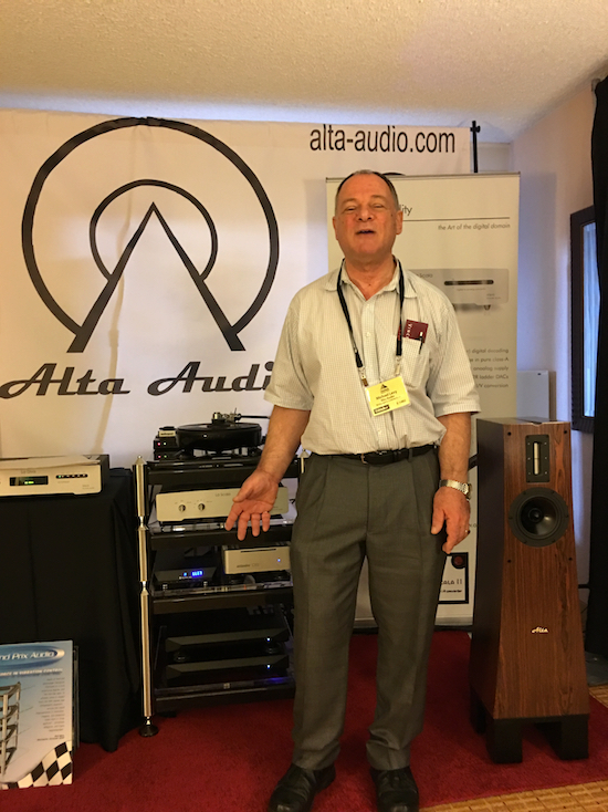 Michael Levy of Alta Audio