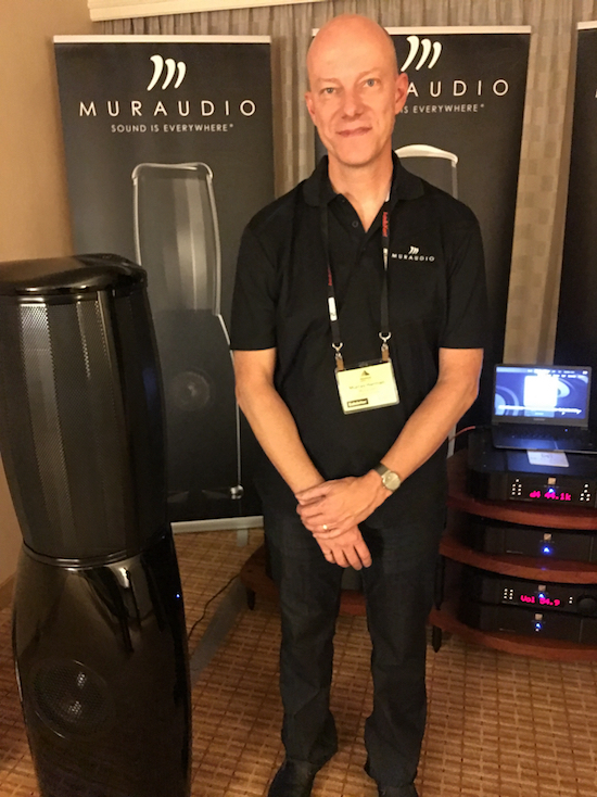 Murray Harman of Muraudio