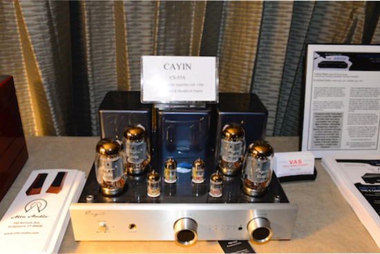 CS-55A integrated tube amp at $2400 (phono stage and headphone output included, 40Watts per channel.