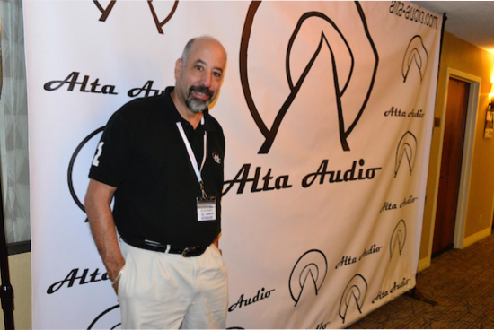Jay B. Lawrence, Audio Society of Long Island. Helping out with the 4 Alta Audio Rooms.