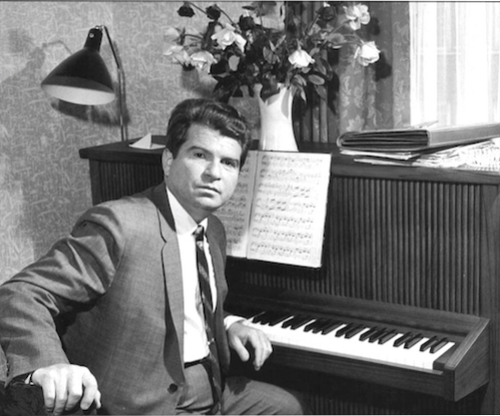 Emil Gilels in the 1960s.