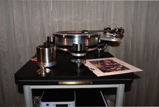 VPI Avenger Reference turntable ($21,000).