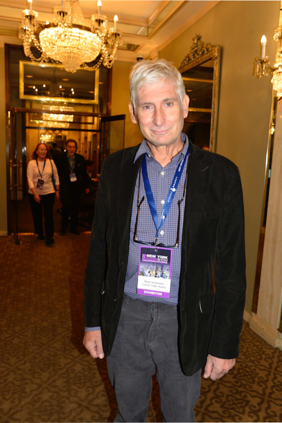 Mark Schneider of Linear Tube Audio.