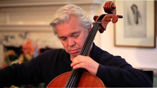 Clemens Hagan, cello.